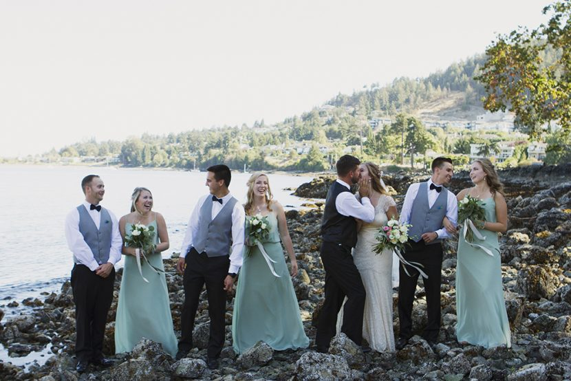 Vancouver Island Adventure Wedding Photographer