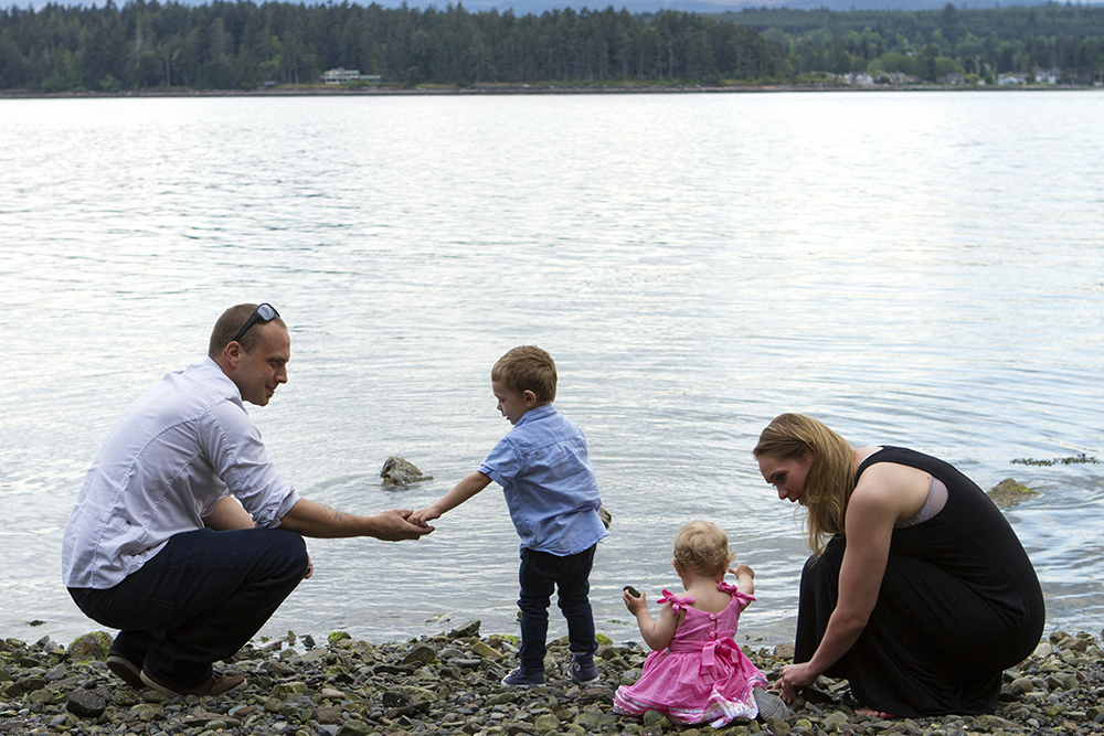 Vancouver Island Adventure Family Wedding Photographer