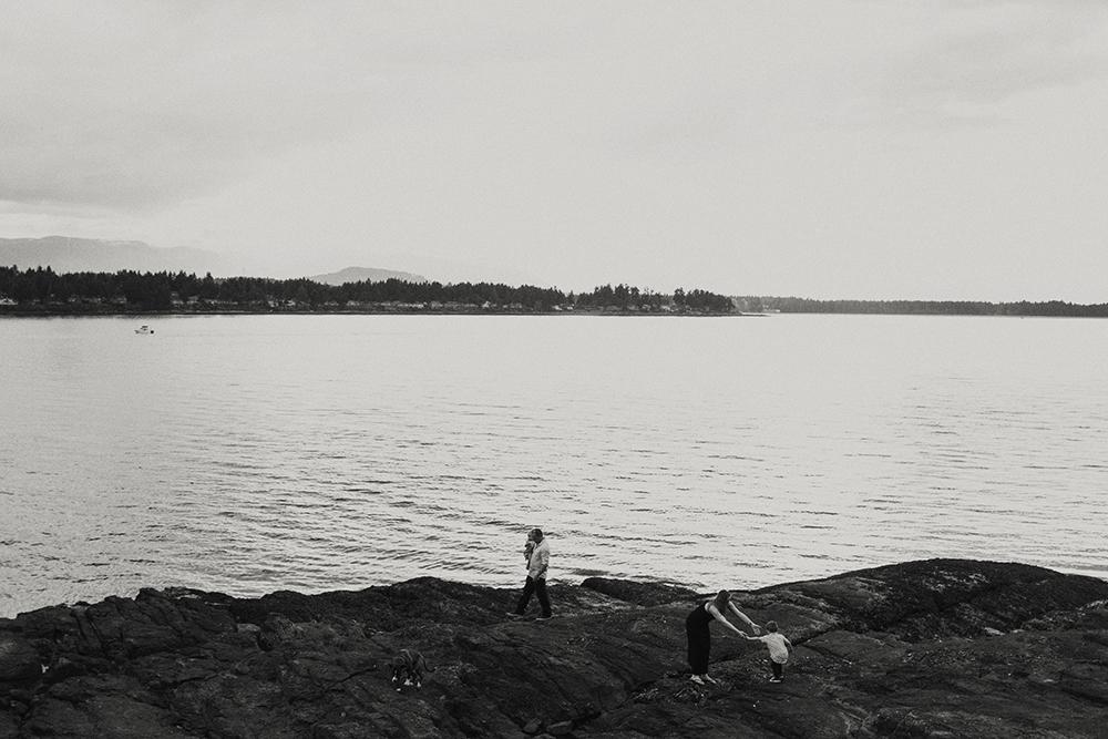 Vancouver Island Adventure Family Wedding Photographer