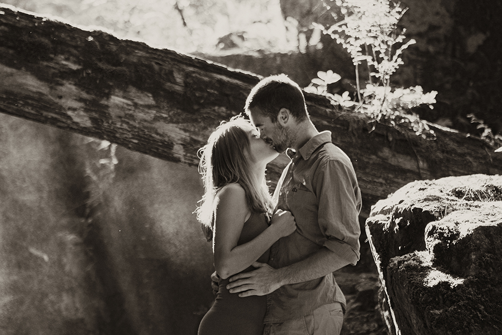 Vancouver Island Adventurous Camping Wedding Photographer