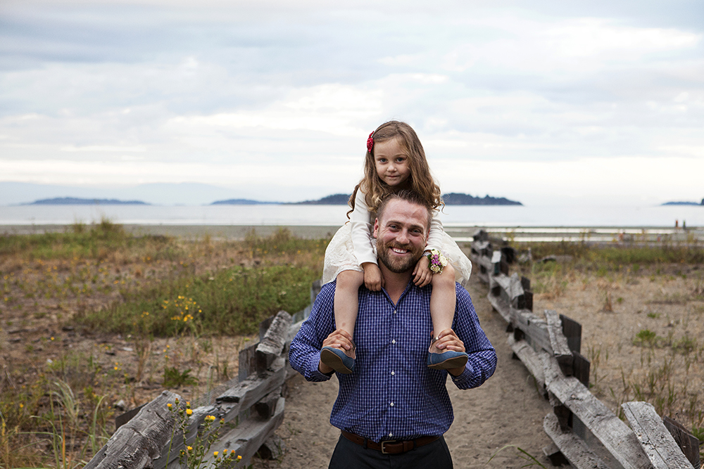 Parksville Family Wedding Photography Rathrevor Beach