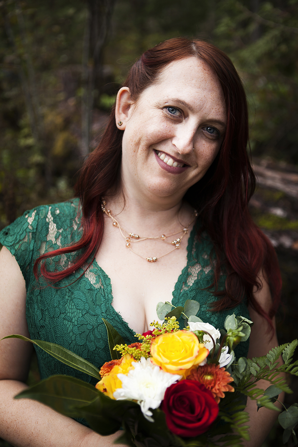 Little Qualicum Falls Wedding Elopement