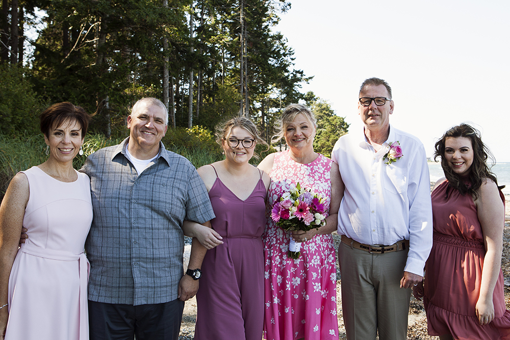Rathtrevor Beach Wedding Photographer | Rathtrevor Beach Elopement Photographer | Parksville Wedding Photographer