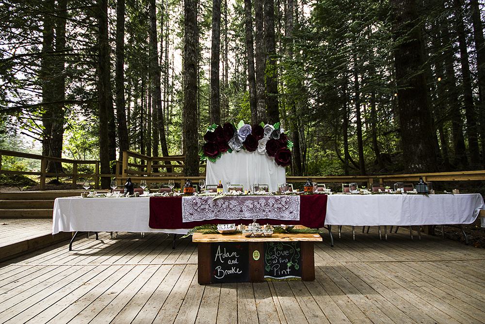 Port Alberni Camping Wedding | McLean Mill Historic Site Wedding