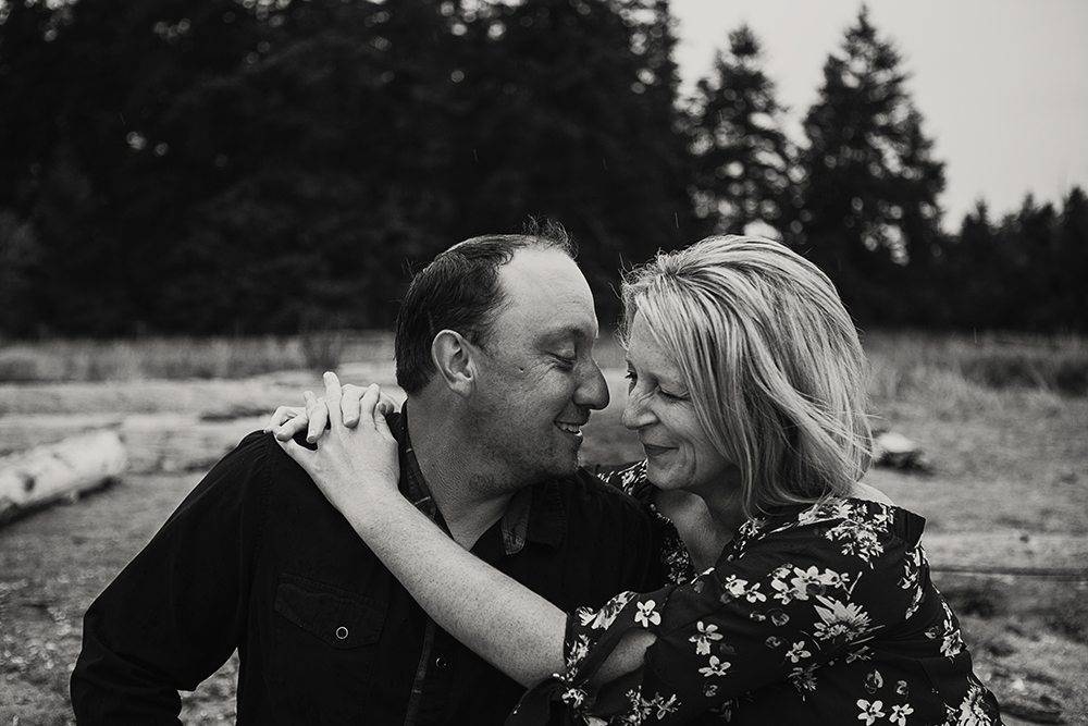 We're Planning a Parksville Wedding! ~Robin & Paul~ Rathtrevor Beach Engagement Photos