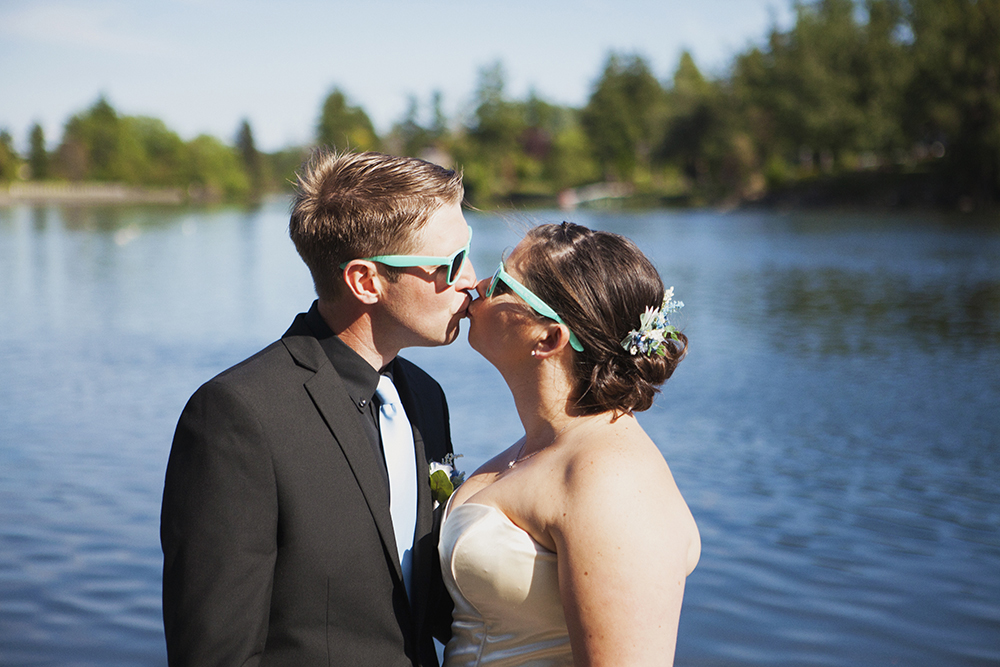 Vancouver Island Elopement Photographer | Victoria Gorge Waterway Wedding