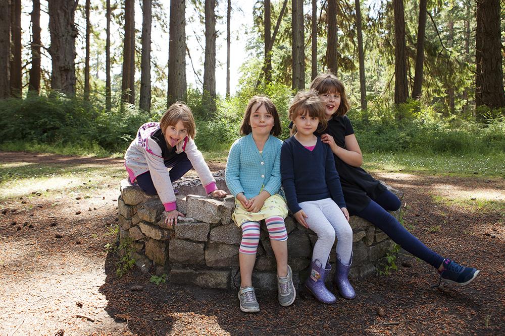 Rathtrevor Beach Family Reunion | Pasrksville Family Photography