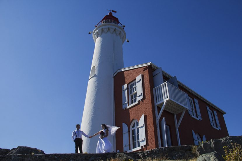 Fisgard Lighthouse National Historic Site Wedding