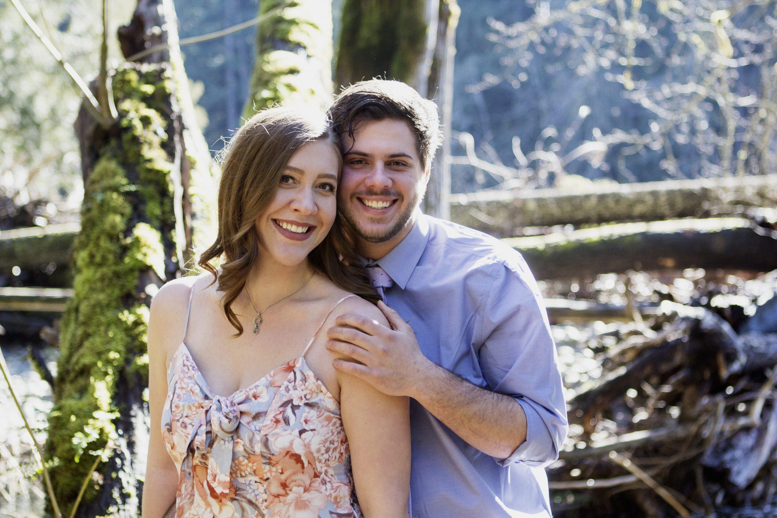 Nanaimo Wedding Photographer | Parksville Wedding Photographer | Nanaimo River Engagement Photos