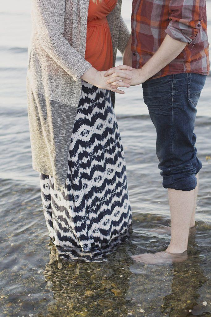 Parksville Wedding Photographer   Rathtrevor Beach Engagement Photos