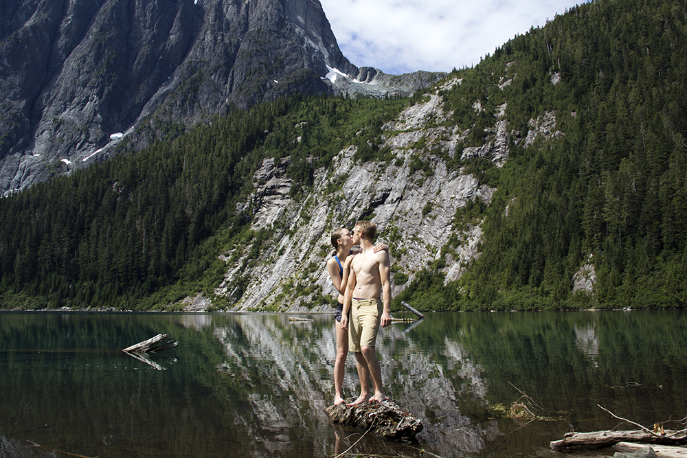 Landslide Lake Hike | Strathcona Park Elopement Photographer | Camping Vancouver Island