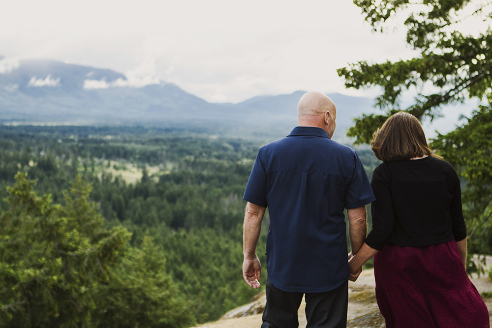 Parksville Wedding Photographer | Little Mountain Engagement Photos