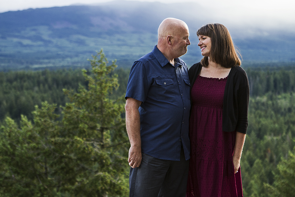 Parksville Wedding Photographer | Little Mountain Engagement Photos