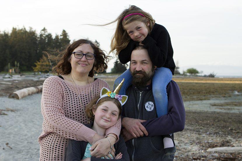 Rathtrevor Beach Adventure Family Photoshoot