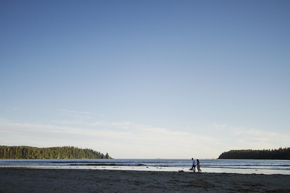 Vancouver Island Wedding Photographer - Parksville Qualicum Beach Wedding Photographer - Camping Engagement Photoshoot