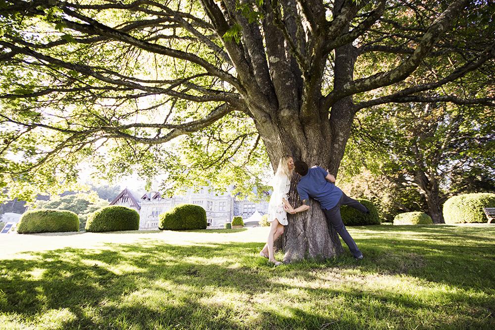 Hately Castle Engagement Photos- Vancouver Island Playful Wedding PhotographerHately Castle Engagement Photos- Vancouver Island Playful Wedding Photographer