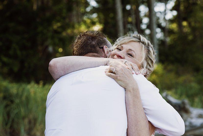 Rathtrevor Beach Wedding Photographer | Rathtrevor Beach Elopement Photographer | Parksville Wedding Photographer