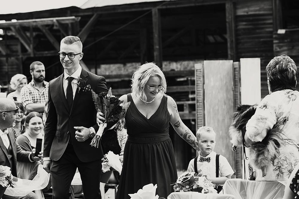 Port Alberni Camping Wedding | McLean Mill Historic Site Wedding