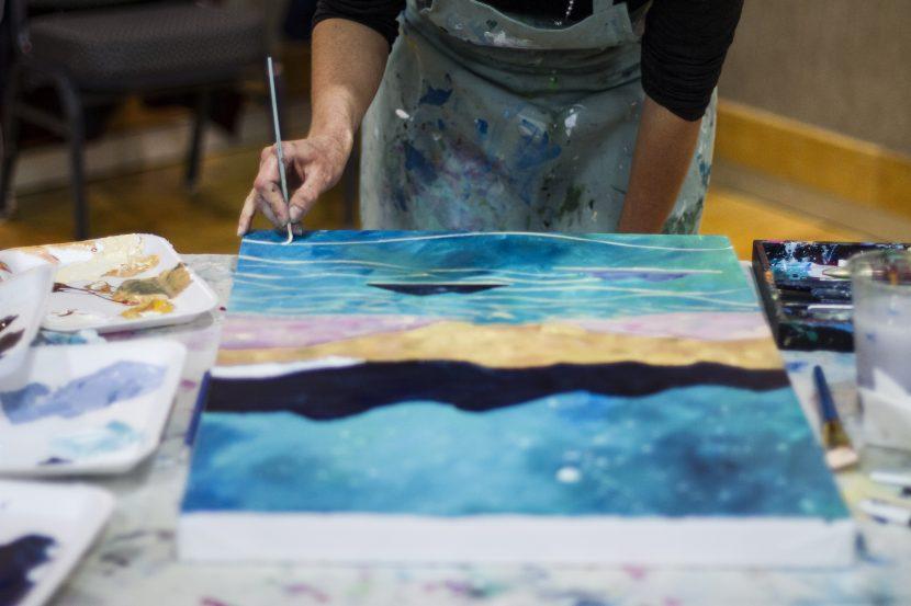 Parksville Art Warz | Oceanside Paint Party Event