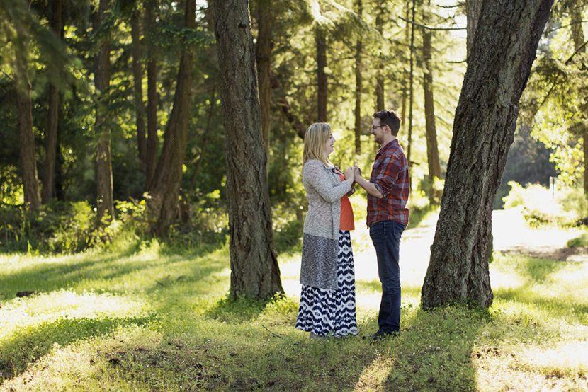 Parksville Wedding Photographer | Rathtrevor Beach Engagement Photos