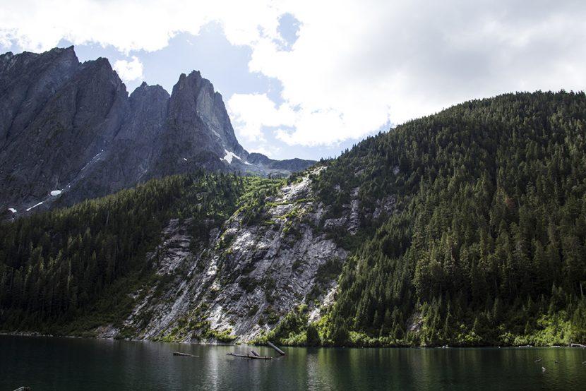 Landslide Lake Hike | Strathcona Park Elopement Photographer | Camping Vancouver Island